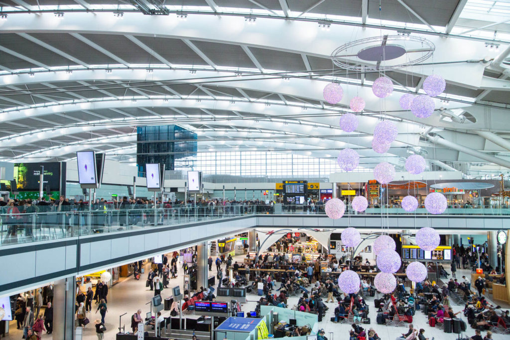 Heathrow Airport UK